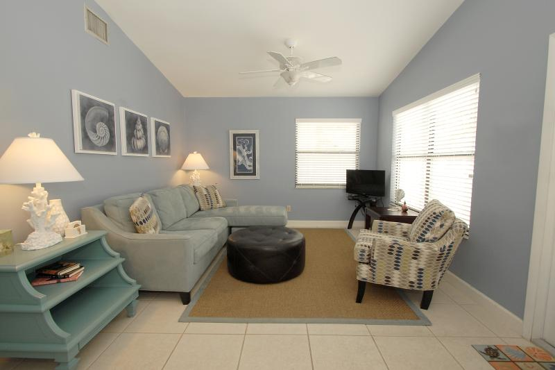 Living Room with Sleeper Sofa and Flat screen TV