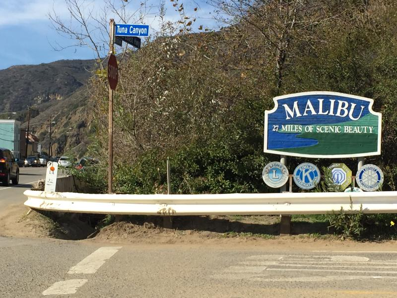 Take some time to visit beautiful Malibu!