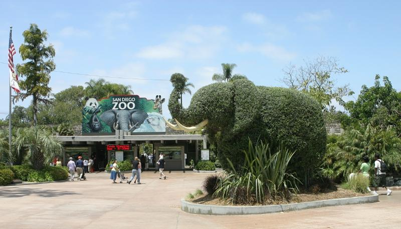 San Diego Zoo is 20 minutes South of the house.