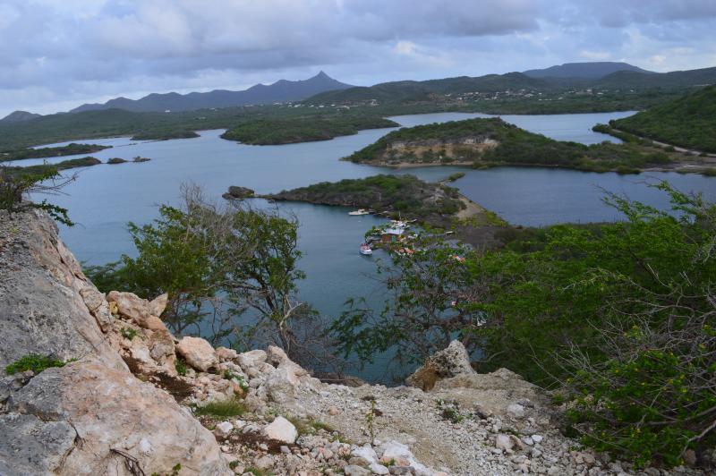 La mejor vista de todos Curacao se encuentra a sólo 3 cuadras