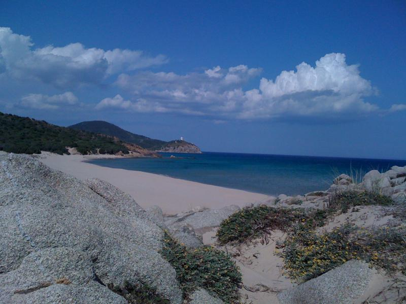 The beach of Campana, 1000 meters from home