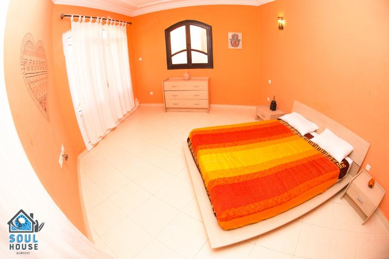 Colourful double room