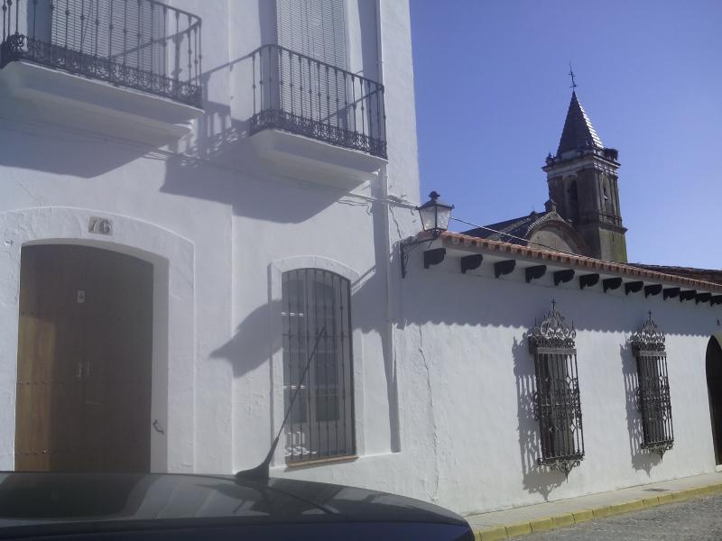 Vista de 'El Paseo' desde la puerta.