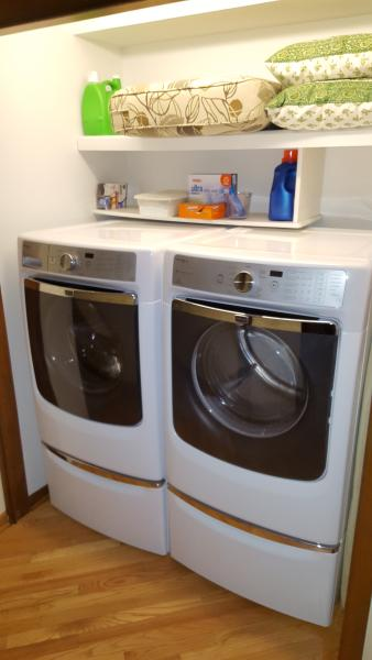 hi efficiency washer/dryer. only used HE detergent