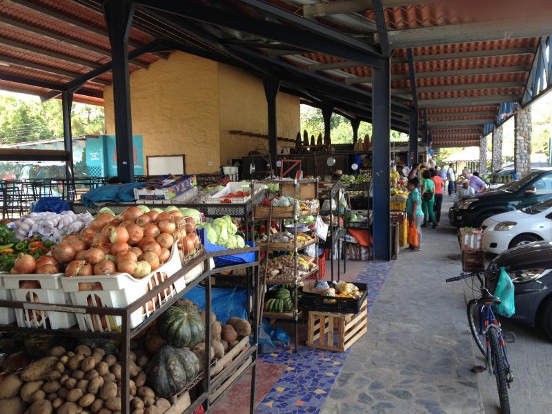 Farmers Market i El Valle