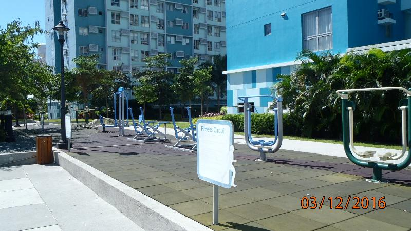 Outdoor Gym and work out area