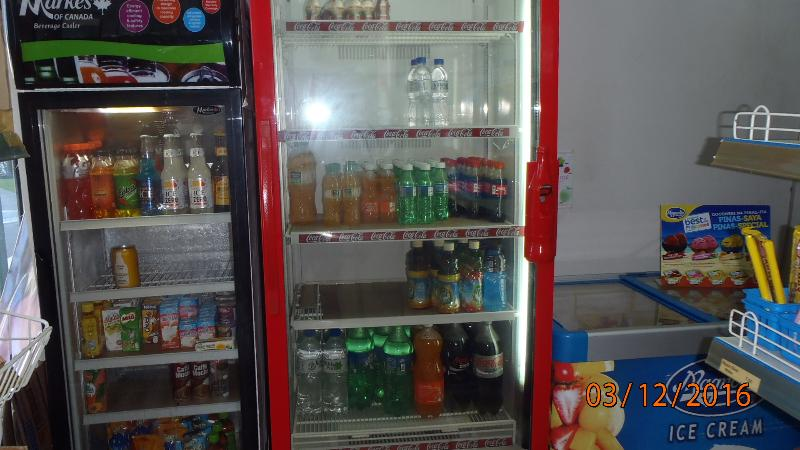 Well stocked refrigerators with ice cold beer, soft drinks, water, juice all your heart desires.