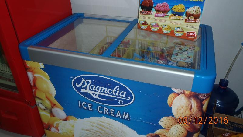 Magnolia Ice cream yummy