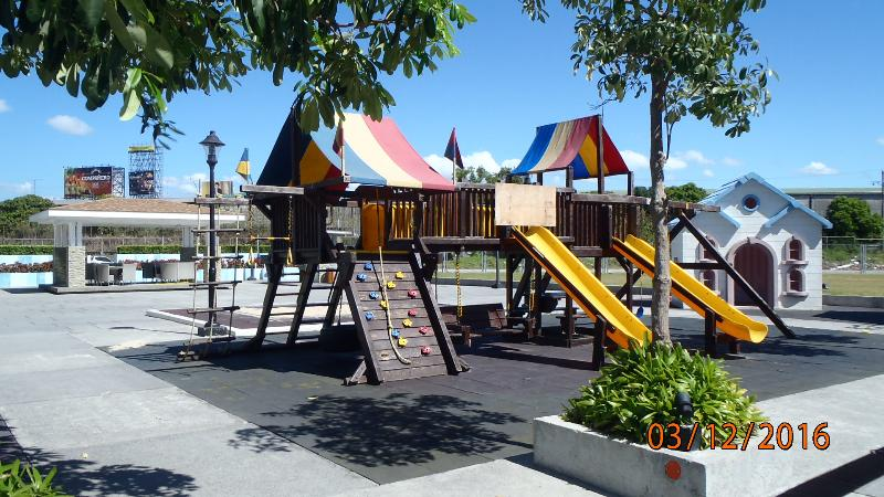 Play place for the kids to enjoy and burn off energy