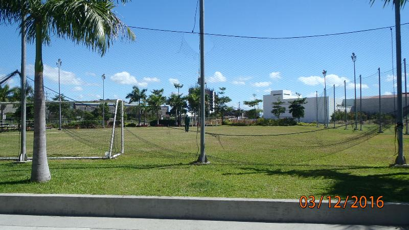 Football field also centrally located for your enjoyment pleasure.