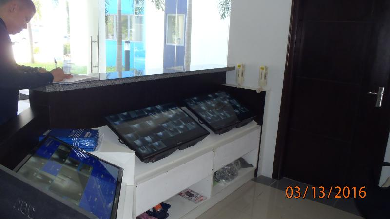 CCTV Monitors all activities in the hallways and elevators just to make sure you are always safe.