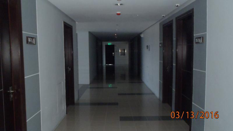 Clean and spacious hallways all tiled and brand new.