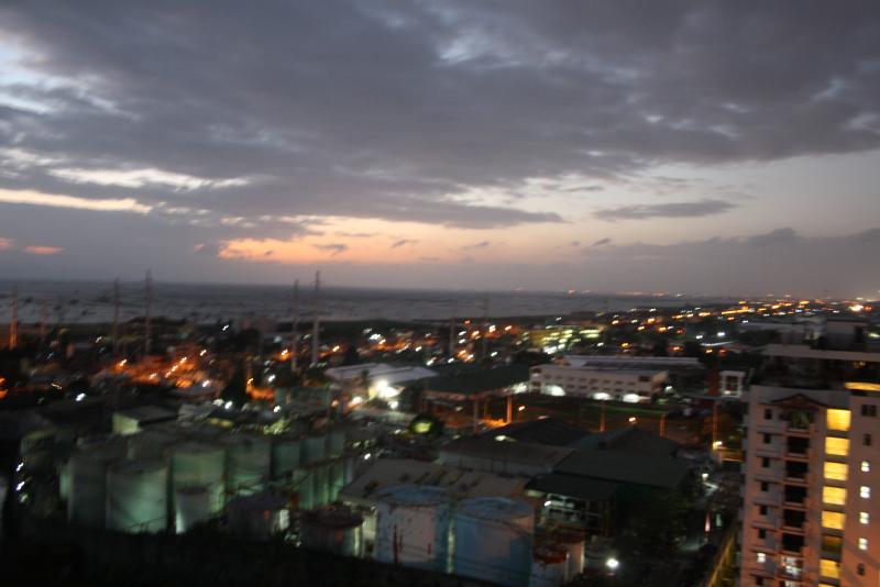 View of Laguna De Bay at night