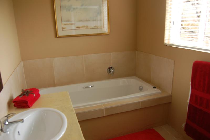 Bathroom with shower, Feathers Cottage