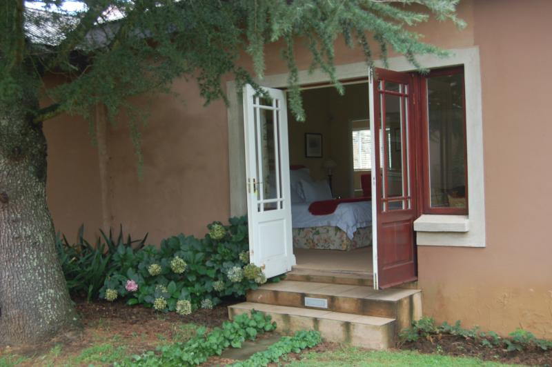 French doors out into private garden - Feathers Cottage