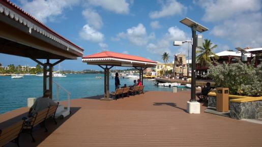 Christiansted Boardwalk just a moment walk away with great shops restaurants, water sports and more.