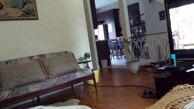 This a a vew from my living room to my kitchen.