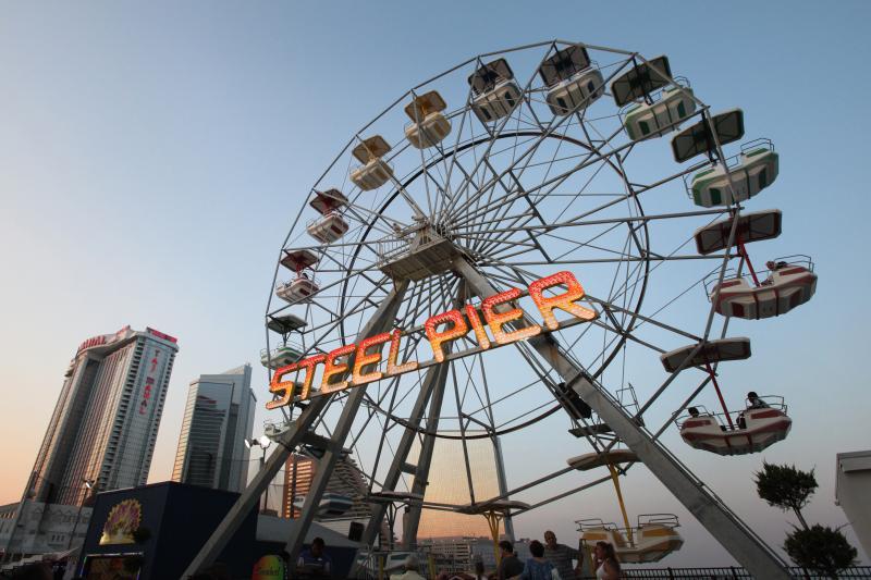 Steel Pier Amusement Part on the Atlantic City Boardwalk! Just minutes away!