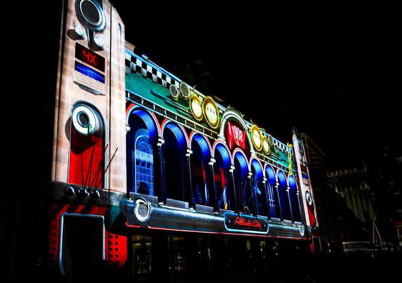 Atlantic City Boardwalk at Night! Just minutes away!