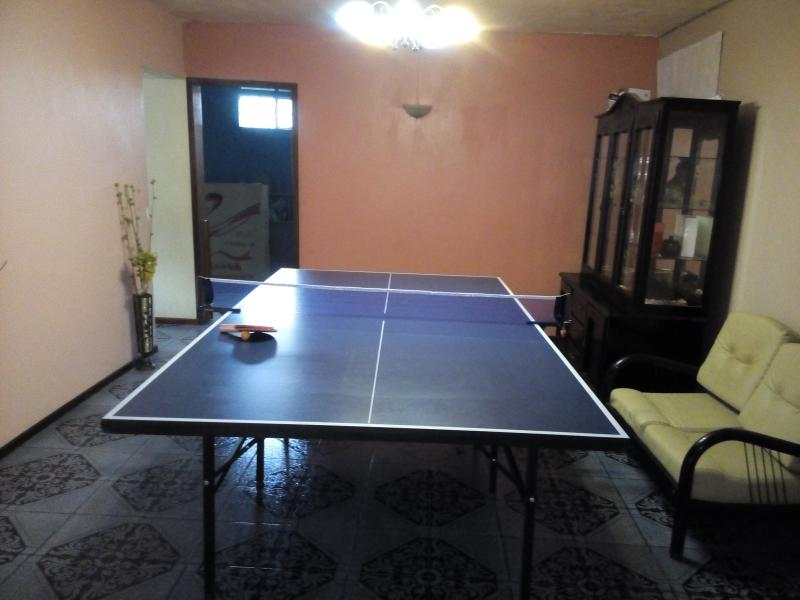 Table tennis for guests
