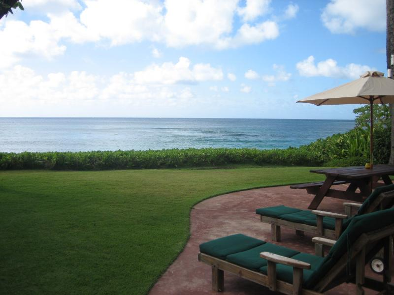 Direct Oceanfront Views with Direct Beach Access to Sunset Beach and Pipeline.