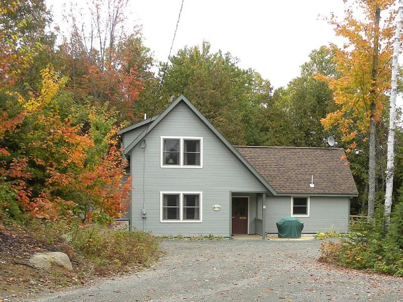 Sunrise Cottage - Enjoy total privacy in the north woods! Ramp to lake on right.