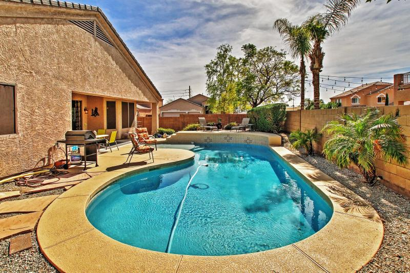 Let this incredible ranch-style Peoria vacation rental house serve as your ultimate home base for exploring the Phoenix metropolitan area!