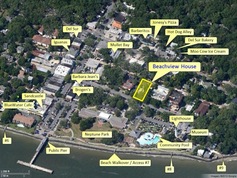 Location, Location, Location -- Beachview House in the heart of the village