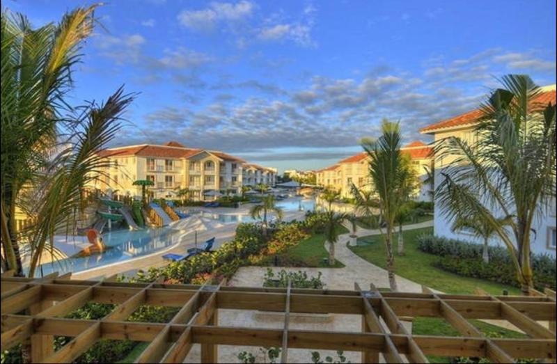 Vista general del resort
