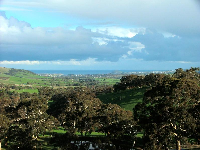 In the hills above Victor Harbor