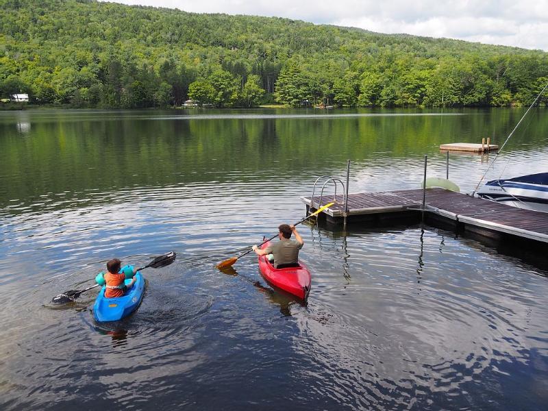 Lake is great for kayaking