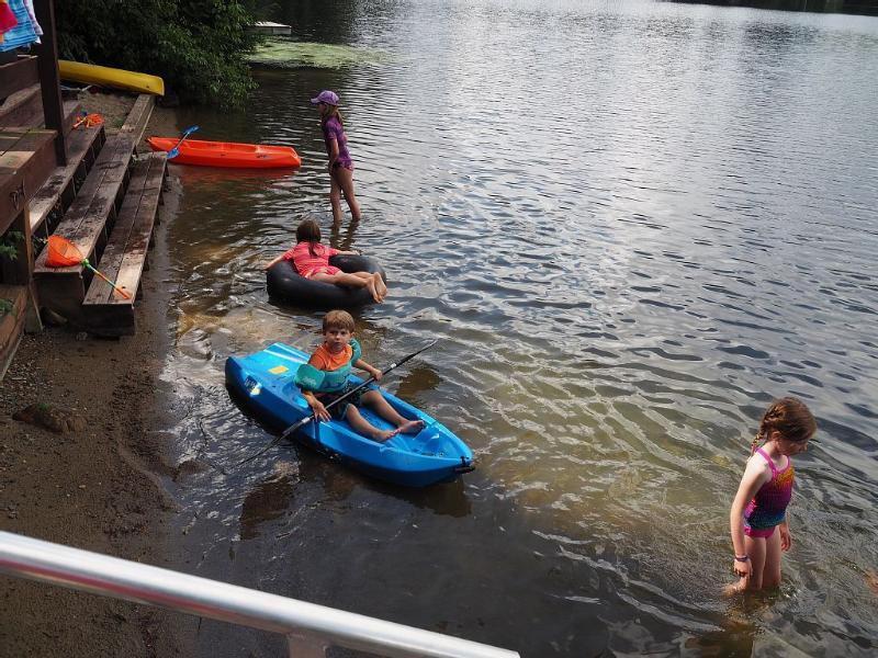 Kids love the water