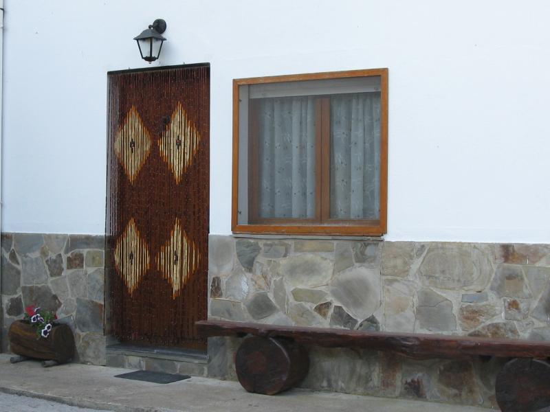 Entrada apartamento de 4 plazas Casa El Caminero