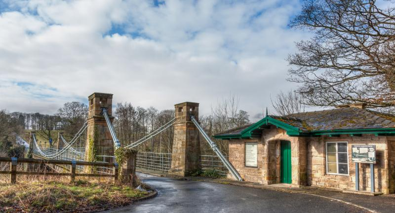 Whorlton Suspension Bridge, which you can walk to from here along the Teesdale Way.