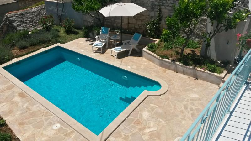Pool view from terace