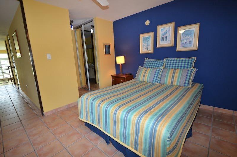 Room 1 -queen size bed - second floor