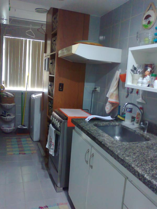 Cozinha/Lavanderia (Kitchen/Laundry)
