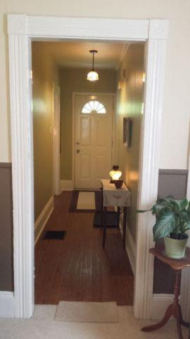 Front hallway entrance of your home-away-from-home!
