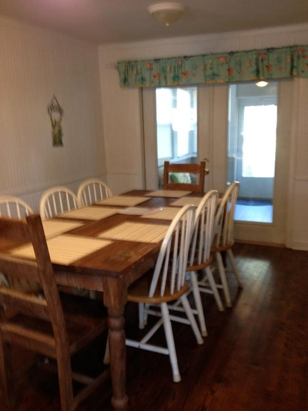 Farm table to seat 8 people