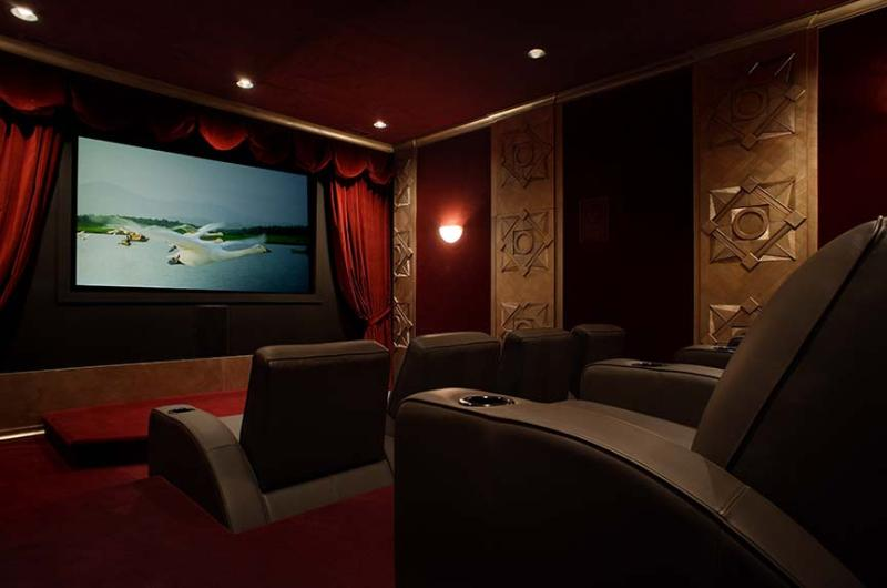 Movie Theatre - Seating for 8