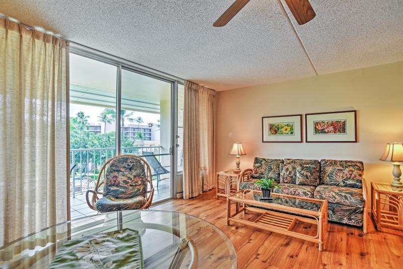 Paradies erwartet Sie in dieser schönen Ferienmieteigentumswohnung SüdKihei!