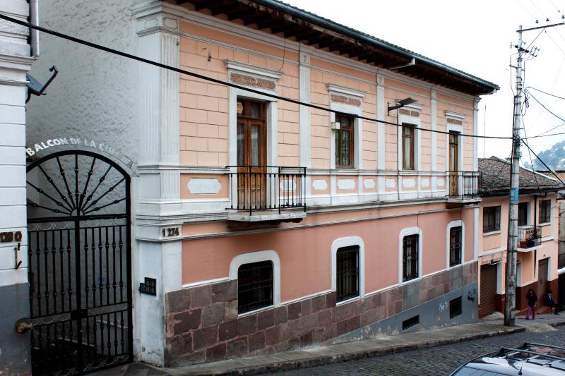 Entrance to Balcon de la Cuenca.