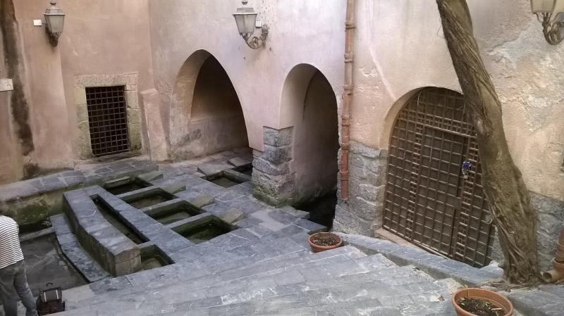 Lavatoi medievali a tre minuti dall'appartamento.