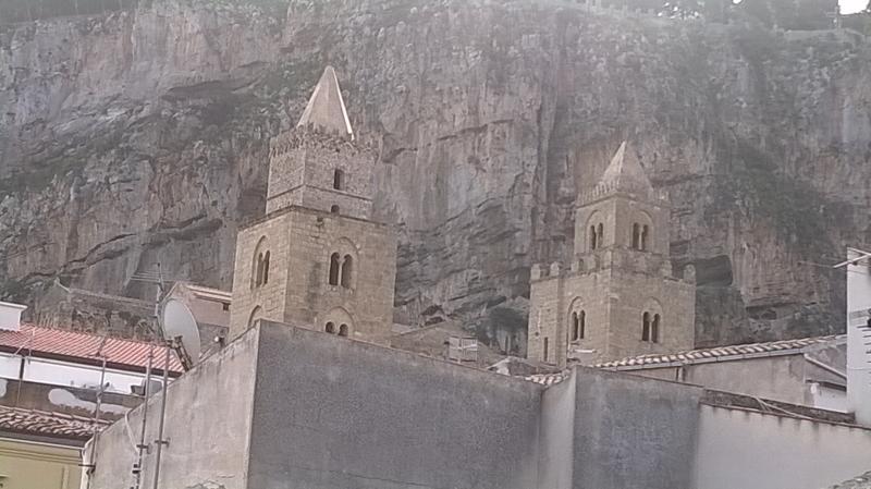 Vista dalla casa verso la Cattedrale