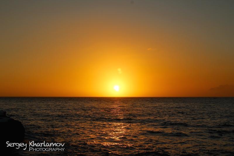'Impresionante puesta de sol de Negril!'