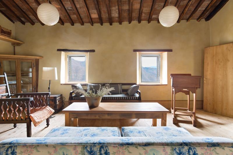 17th Century Mountain View Home, holiday rental in Coreglia Antelminelli