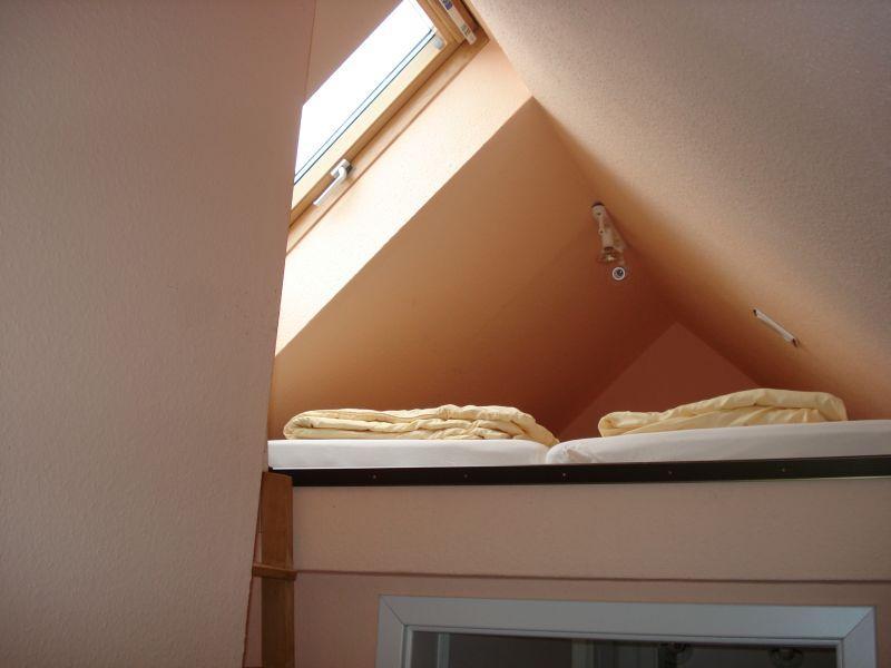 unser 'Spatzennest' - Maisonettschlafplätze