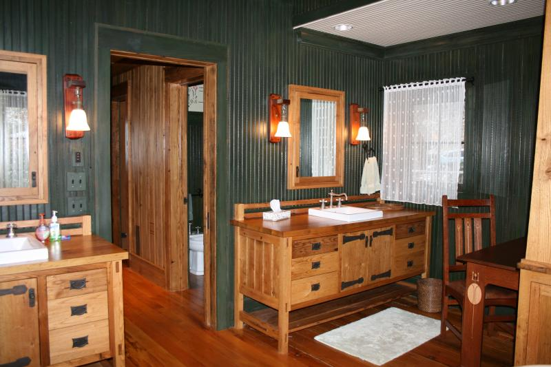 Master Bathroom with Soaking Tub, Walk-In Shower, Double Sinks