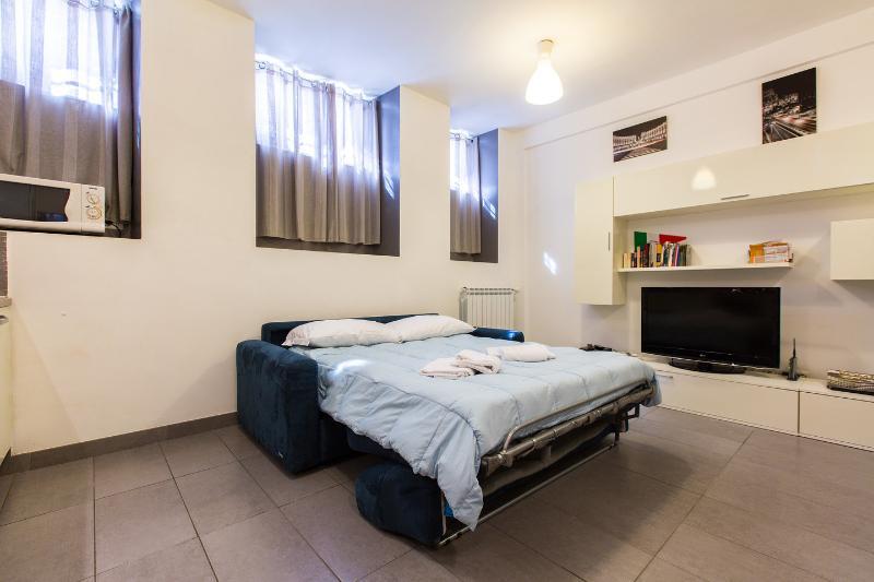 Living Room - White Apt