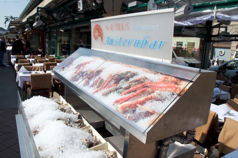 300m Area, Naschmarkt - Fish Restaurant Nautilus